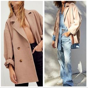 Free People Hannah Super Soft Slouchy Blazer Small